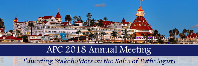 APC 2018 - Educating Stakeholders on the Roles of Pathologists